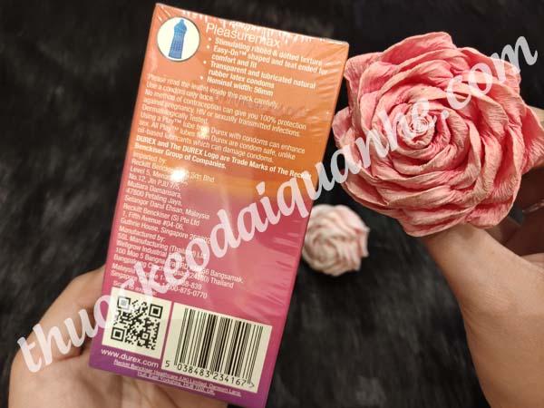 Bao cao su Durex Pleasuremax (Hộp 12 cái)