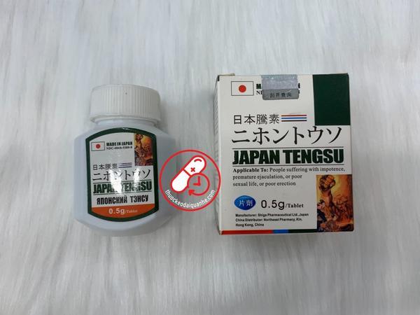 Japan Tengsu (hộp 16 viên) - Thuốc cường dương Nhật Bản