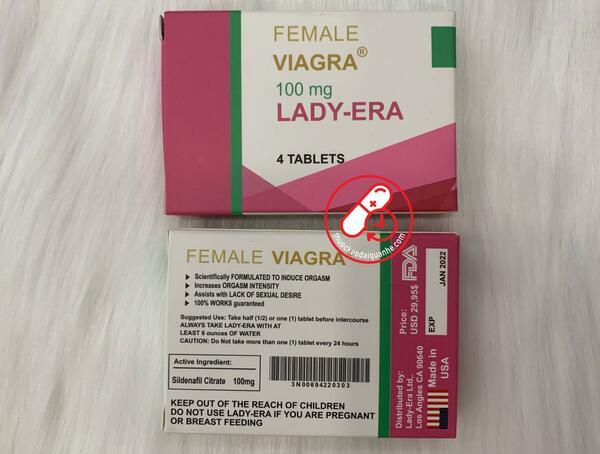 Thuốc kích dục nữ VIAGRA LADY-ERA (4 viên)
