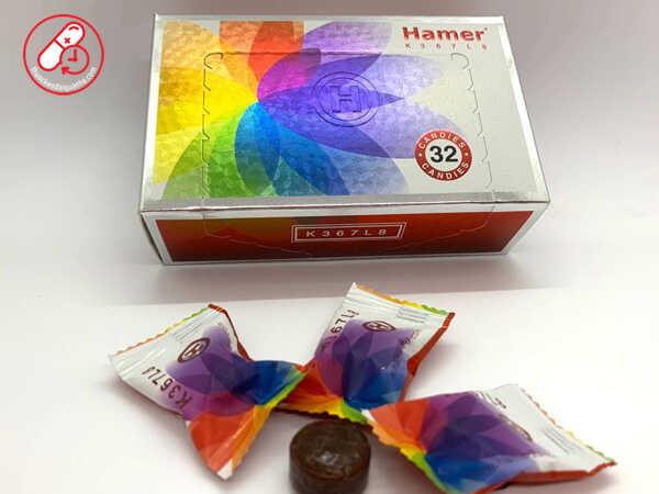 Kẹo Sâm Hamer Chính Hãng Lô Mới Nhất 2020 K367L8 Hộp 32 Viên
