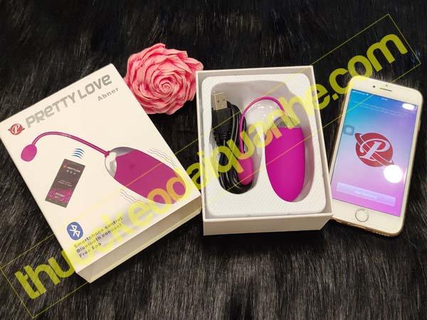 Trứng rung tình yêu Bluetooth Pretty Love kết nối điện thoại