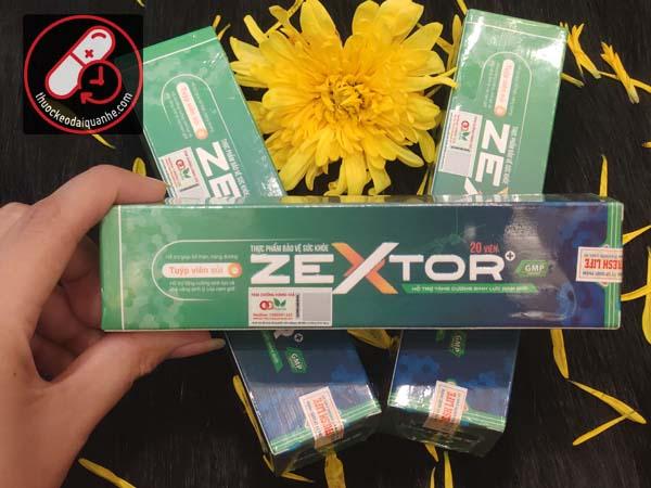 Viên sủi Zextor chính hãng - Tăng cường sinh lý nam