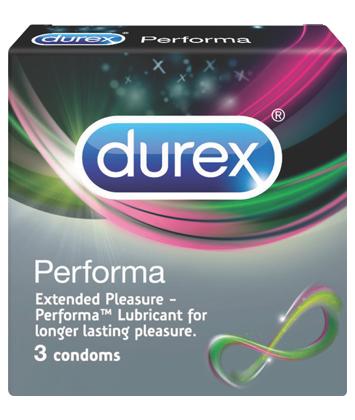 Bao cao su Durex Performa (3 Cái / Hộp)