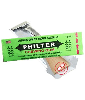 Kẹo mềm kích dục nữ - Chewing Gum Philter Mỹ