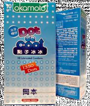 Bao cao su Okamoto Dot De Cool mát lạnh (Hộp 10 cái)