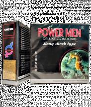 Bao cao su POWER MEN kéo dài thời gian quan hệ (Hộp 3 cái)